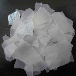 Kina producent Flakes / Perler / Solid 99% (Sodium Hydroxid, NaOH) Caustic soda